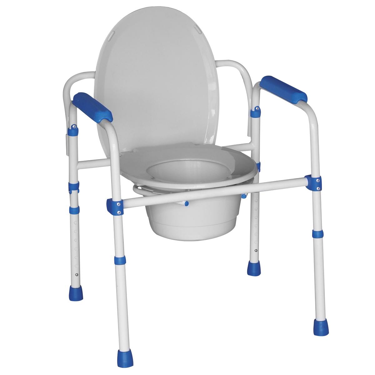 oxypharm chaise toilette 3 en 1 pliante. Black Bedroom Furniture Sets. Home Design Ideas